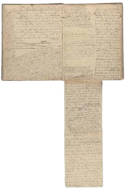 Marcel Proust's notebook